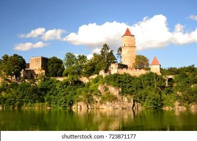 Castle Zvikov in Czech republic