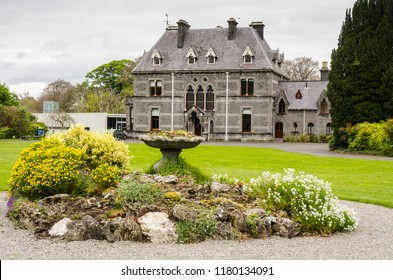 CASTLEBAR, IRELAND - APRIL 29 2017: The National Museum of Country Life is located in Turlough village, 8 km northeast of Castlebar, and is the only national museum in Ireland outside of Dublin.