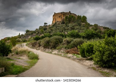 castle-convent of the Santa Maria de Montesa Valencian military order, Valencian Community, Spain