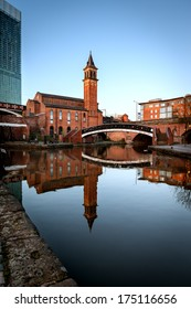 Castlefield is an inner city conservation area of Manchester, in North West England. The conservation area which bears its name is bounded by the River Irwell, Quay Street, Deansgate