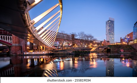 Castlefield is an inner city conservation area of Manchester in North West England. It is bounded by the River Irwell, Quay Street, Deansgate and the Chester Road.