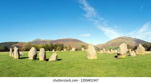 Castlerigg Stone Circle, Cumbria UK
