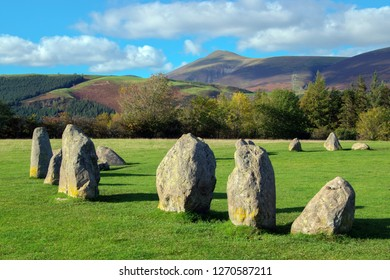 Castlerigg Stone Circle, Keswick, Cumbria UK