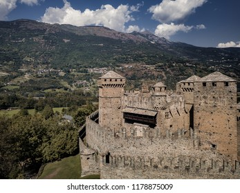 Castles in Aosta Valley, Fenis (Italy)