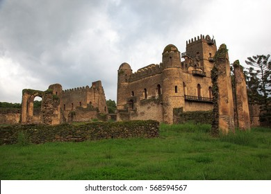 Castles of the Imperial Campus in Gondar, Ethiopia