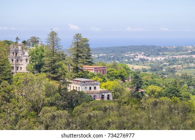 Castles and Sintra Coast View, Portugal