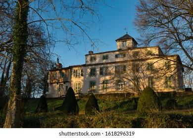 Castres, tarn, France - january 17 2020: Gourgade chateau
