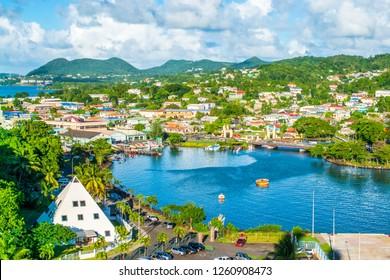 Castries, St Lucia, Eastern Caribbean