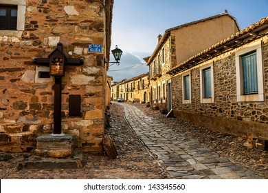 Castrillo de los Polvazares is a village situated in Leon, in North-west of Spain. it is one of the few places of Maragateria (Camino de Santiago)
