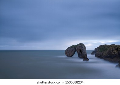 castro de las gaviotas, rock formation that receives this name