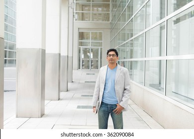 casual indian male