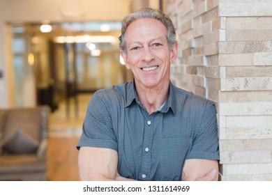 Casual older man