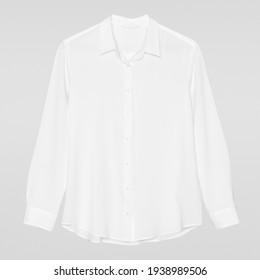 Casual white blouse women's fashion