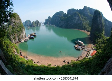 Cat Ba Island in Halong Bay Vietnam