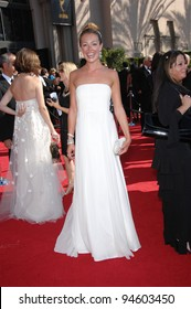 Cat Deeley at the 59th Primetime Emmy Awards at the Shrine Auditorium. September 16, 2007 Los Angeles, CA Picture: Paul Smith / Featureflash