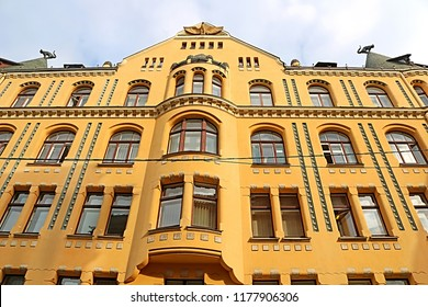 Cat in house images stock photos vectors shutterstock the cat house at 10 meistaru iela in the old town of riga the capital malvernweather Images