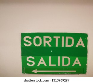 Catalan and Spanish (exit)