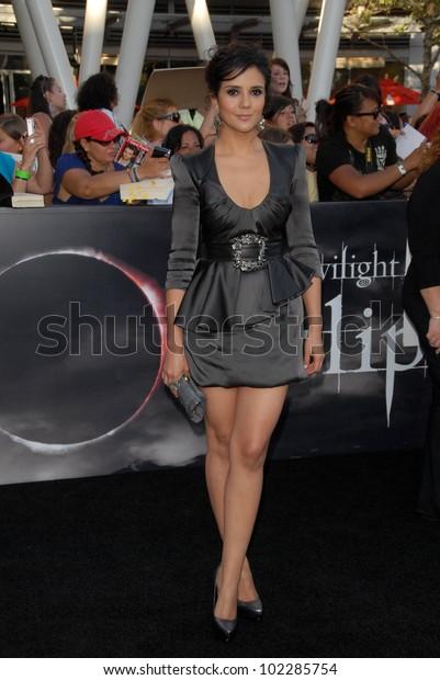 Catalina Sandino Moreno Twilight Saga Eclipse Stock Photo (Edit ...