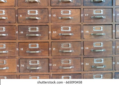 Catalog file cabinet - Data storage
