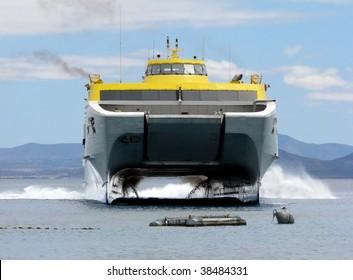 catamaran, ferry
