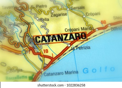 Calabria Province Map Stock Images RoyaltyFree Images Vectors