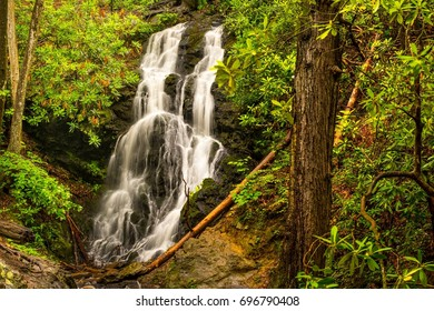 Cataract Falls in Great Smoky Mountains National Park