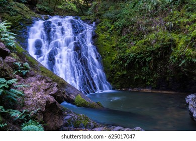 Cataract Falls in Mt. Tam State Park