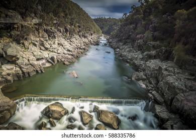 Cataract Gorge, Launceston, Tasmania, February, 2017 by Aidan Williams