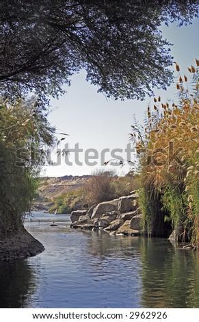 Cataract On River Nile Egypt Near Stock Photo Edit Now 2962926