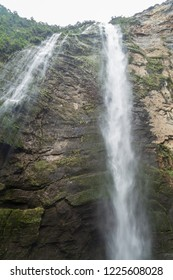 Catarata de Gocta - one of the highest waterfalls in the world, northern Peru.