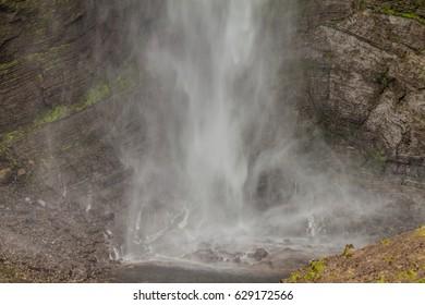 Catarata del Gocta waterfall in northern Peru