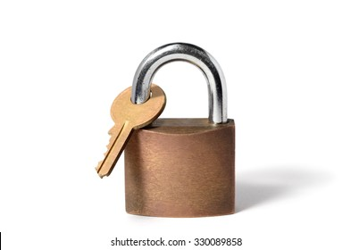 Catch-22, represented by padlock locking its own key