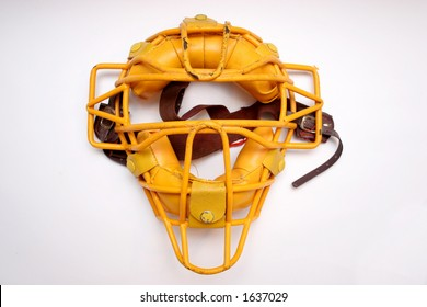 a catcher mask in isolated