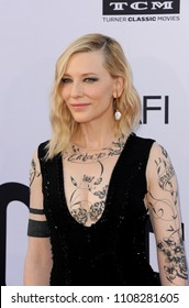 Cate Blanchett at the AFI's 46th Life Achievement Award Gala Tribute To George Clooney held at the Dolby Theatre in Hollywood, USA on June 7, 2018.