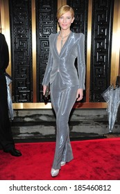 Cate Blanchett, in an Armani Prive suit and Van Cleef & Arpels necklace, at American Theatre Wing's 64th Annual Antoinette Perry Tony Awards ,Radio City Music Hall, New York June 13, 2010