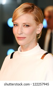 "Cate Blanchett arriving for the premiere of ""The Hobbit: An Unexpected Journey"" at the Odeon Leicester Square, London. 12/12/2012 Picture by: Steve Vas"