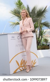 Cate Blanchett attends the photocall for Jury during the 71st annual Cannes Film Festival at Palais des Festivals on May 8, 2018 in Cannes, France.