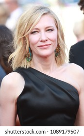 Cate Blanchett attends the screening of 'Girls Of The Sun (Les Filles Du Soleil)' during the 71st annual Cannes Film Festival at Palais des Festivals on May 12, 2018 in Cannes, France