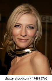 Cate Blanchett at the Los Angeles premiere of 'The Good German' held at the Egyptian Theatre in Hollywood, USA on December 4, 2006.