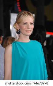 "Cate Blanchett at the world premiere of her new movie ""Elizabeth: The Golden Age"" at Universal Studios, Hollywood. October 2, 2007  Los Angeles, CA Picture: Paul Smith / Featureflash"