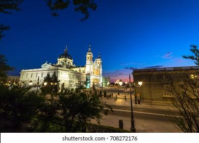 Catedral de la almudena de Madrid,Spain