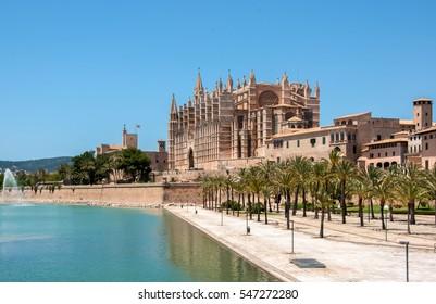 Catedral de Mallorca, Palma de Mallorca, Majorca, Spain