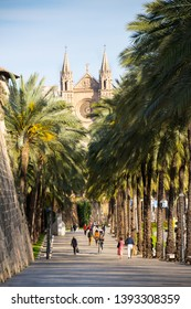 Catedral de Mallorca, Palma de Mallorca, Spain - April 2019