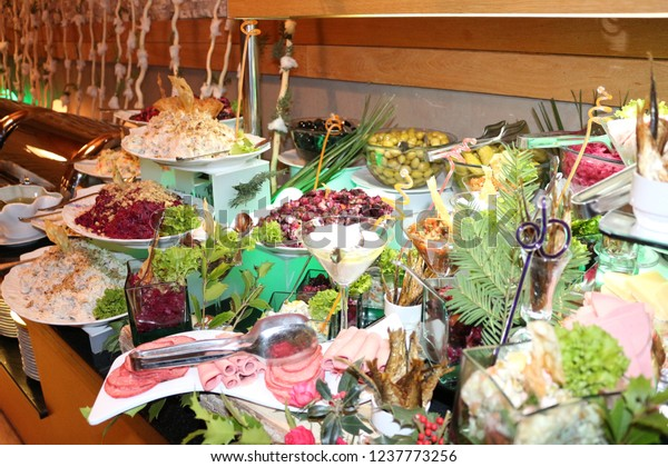 Fine Catering Buffet Table Delicious Food Hotel Stock Photo Edit Download Free Architecture Designs Scobabritishbridgeorg