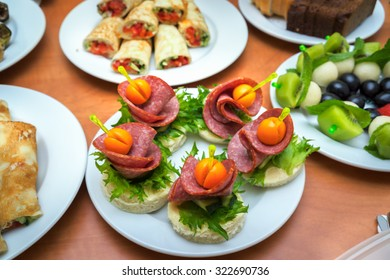 Catering food