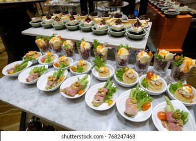 catering food mini canape