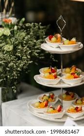 Catering für Party, Vorspeise, Cocktailparty