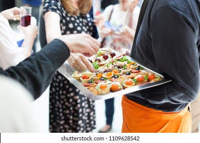 catering service at social gathering