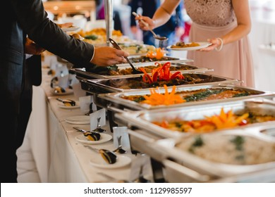 catering wedding buffet for events food