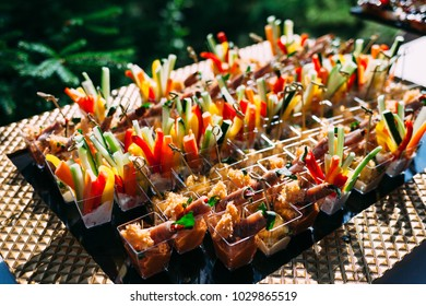 Catering in wedding day